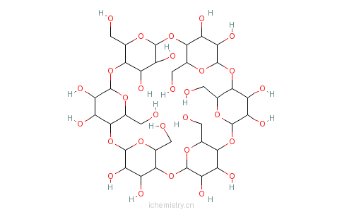 cas:10016-20-3_alpha-环糊精的分子结构