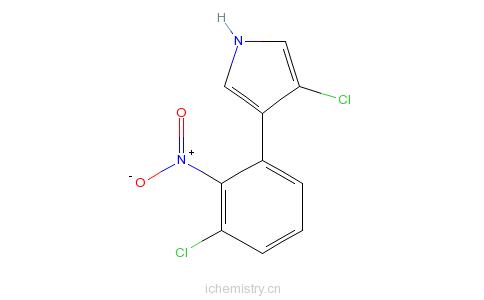 硝吡咯菌素的分子结构