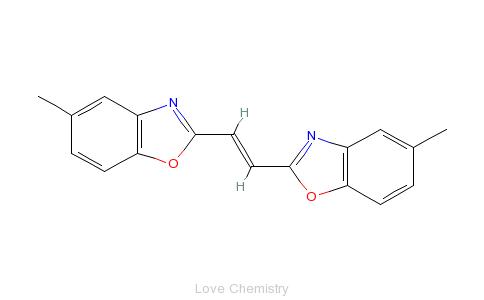 荧光增白剂135的分子结构