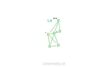 硼化镧的分子结构