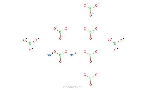 硼硅玻璃分子结构图