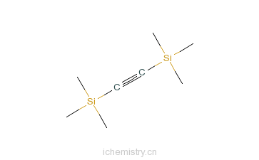 cas:14630-40-1_双(三甲基硅烷基)乙炔的分子结构
