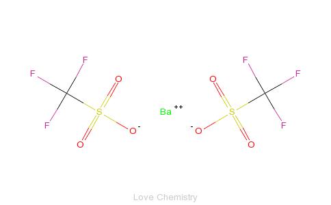 三氟甲磺酸的分子结构