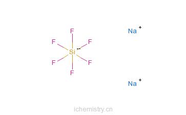 氟硅酸钠的分子结构