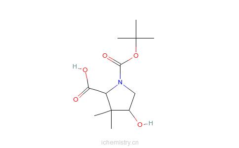 -甲酸的分子结构
