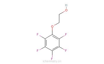 2-五氟苯氧基乙醇的分子结构