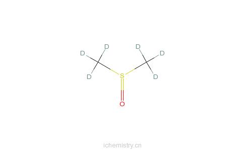 二甲基亚砜-d6的分子结构