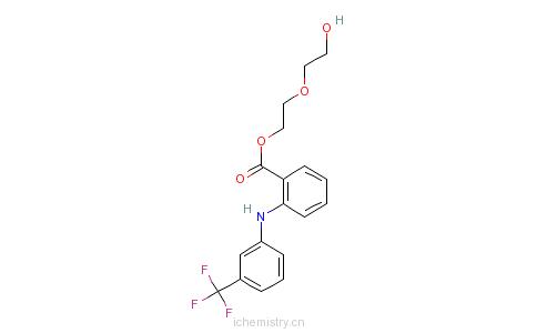 乙基苯甲酸酯的分子结构