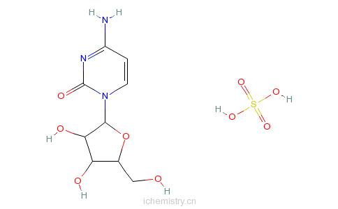 胞苷硫酸盐的分子结构