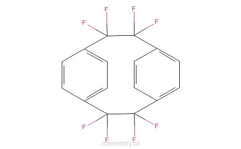 2]二聚对二甲苯的分子结构