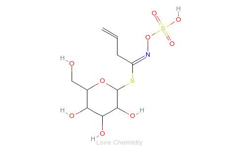 黑芥子苷的分子结构