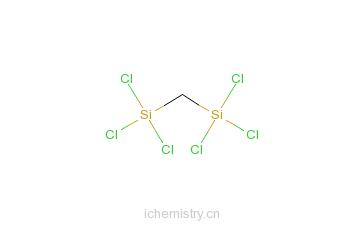 二(三氯甲硅烷基)甲烷的分子结构