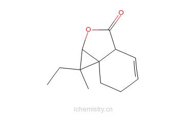 藁本内酯的分子结构