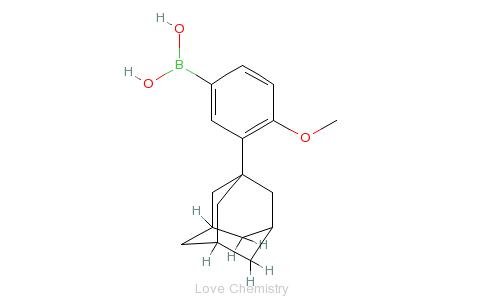 硼酸的分子结构