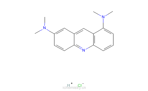 cas:494-38-2_吖啶橙的分子结构
