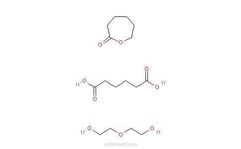 2-氧化二乙醇的聚合物的分子结构