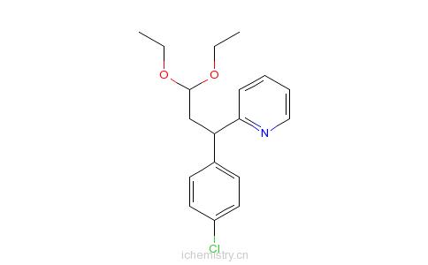丙醛缩二乙醇的分子结构