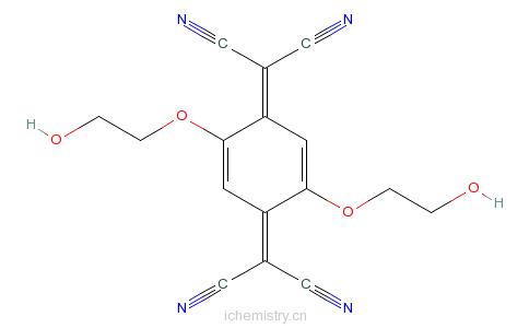 8-四氰醌二甲烷的分子结构