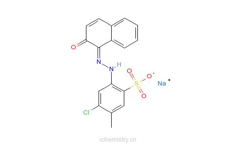 颜料红69的分子结构