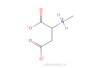 cas:6384-92-5_n-甲基-d-天冬氨酸的分子结构