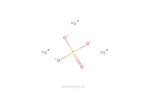 原磷酸银的分子结构