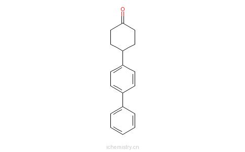 cas:78531-65-4_4-(4-联苯)环己酮的分子结构