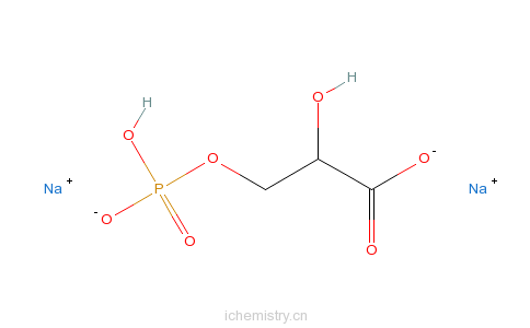 d-3-磷酸甘油酸二钠盐的分子结构