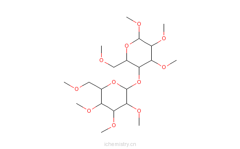 cas:9004-67-5_甲基纤维素的分子结构图片